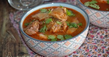 chorba frik agneau poulet recette algerienne