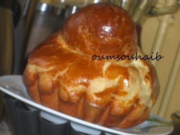 brioche avec levure de boulanger