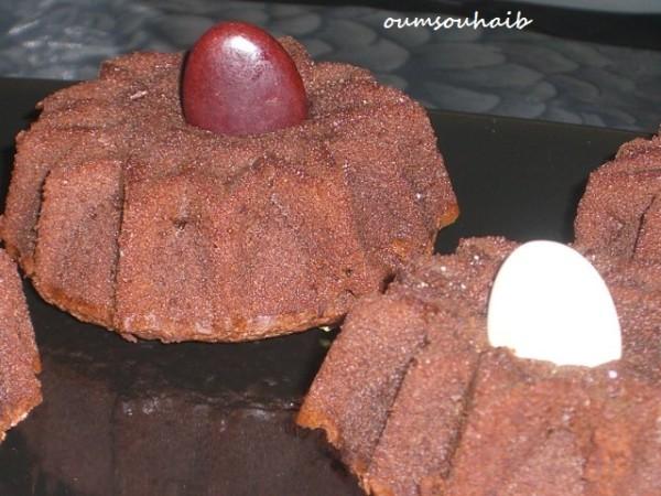 fondant au chocolat sans beurre sans crème