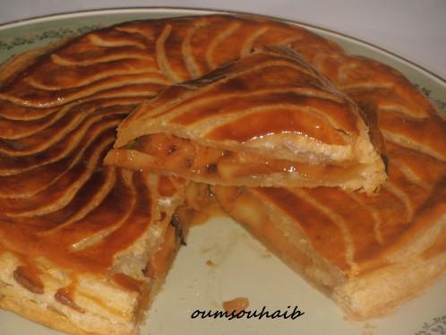 galette des rois aux pomme-caramel beurre salé