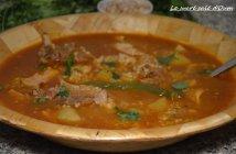 recette aich algérien (berkoukes au poulet et agneau) 3
