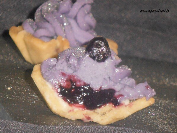 mini tartelettes aux fruits rouges