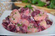recette salade de pomme de terre betterave