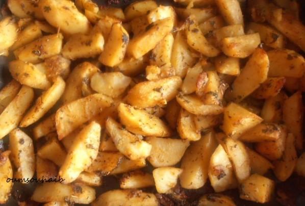 pommes de terre au four express paprika et fines herbes