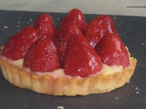 tartelette fraises
