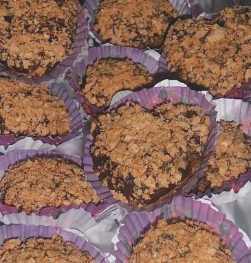 gâteaux aux gaufrettes et chocolat