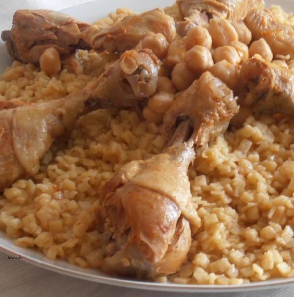 chakhchoukha constantinoise aux pilons de poulet