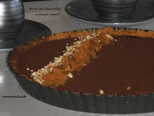 tarte choco 1