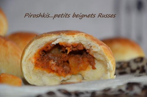 piroshkis petits pains farcis à la viande hachée russe