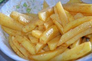 frites maison au four 3