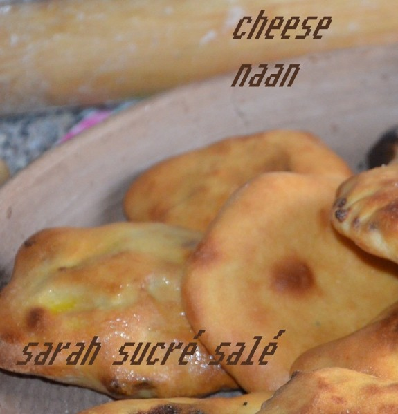 cheese naan au four pain indien au fromage