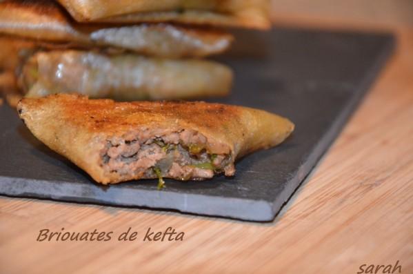 briouate de kefta brik à l'orientale