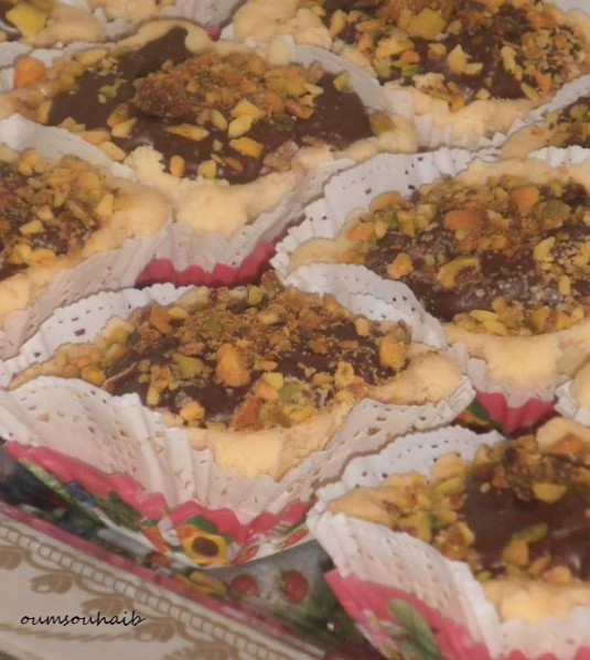 gâteaux algériens faciles aux noix