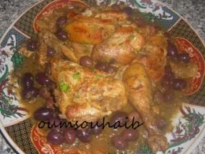 tajine marocain poulet aux olives et citron confit