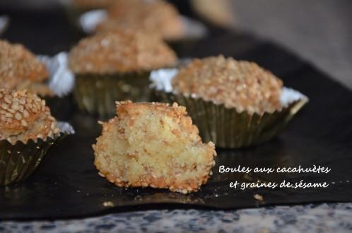 gâteaux algériens aux cacahuètes