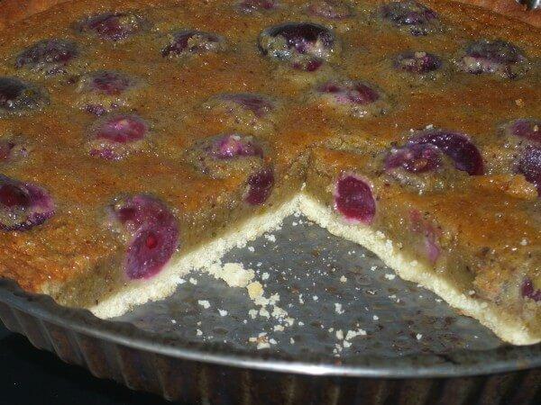 Tarte fraise pistache cyril lignac