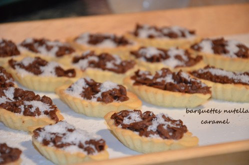 tartelette nestlé caramel noix de coco gâteau algérien
