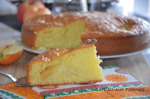 gâteau aux pommes facile et léger