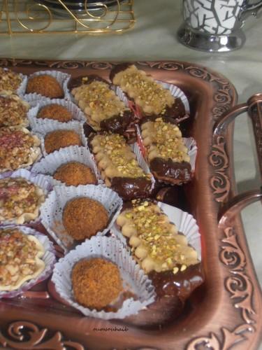 Gâteaux algériens secs aux cacahuètes de Mme Benberrim