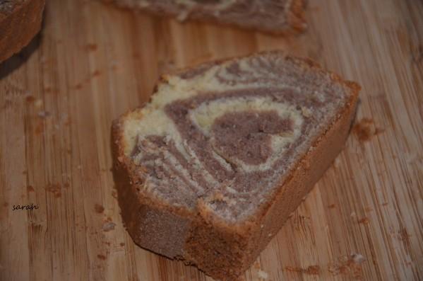 cake marbré italien,cake façon tigré