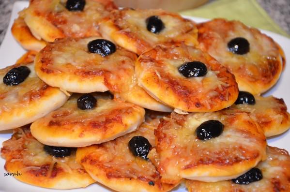 mini pizzas apéro