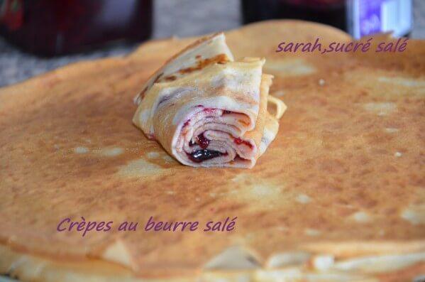 pate à crèpe au beurre salé / crêpes bretonnes traditionnelle