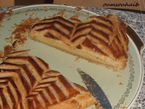 galette des rois à la frangipane pâte feuilletée express