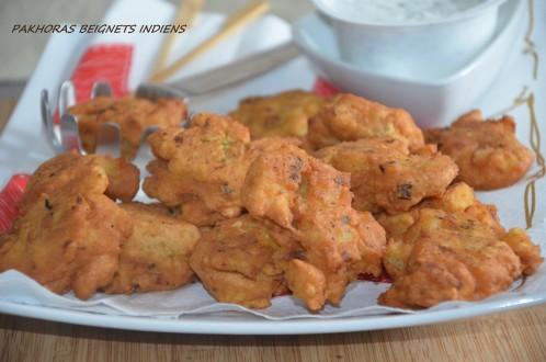 Pakoras de pommes de terre petits beignets indiens