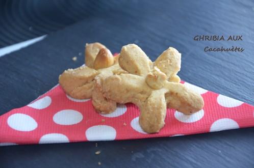 ghribia-aux-cacahuetes - gateaux algériens ghribia - recette ghribia algerienne au beurre