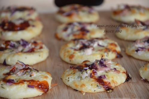 mini pizzas bbq 2