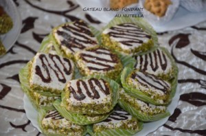 gâteau algérien fondant au nutella