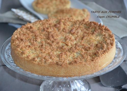 tarte aux pommes crumble
