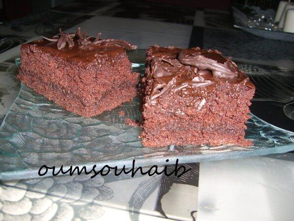 gâteau américain au chocolat