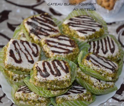 Gâteaux algériens fondants à la nutella