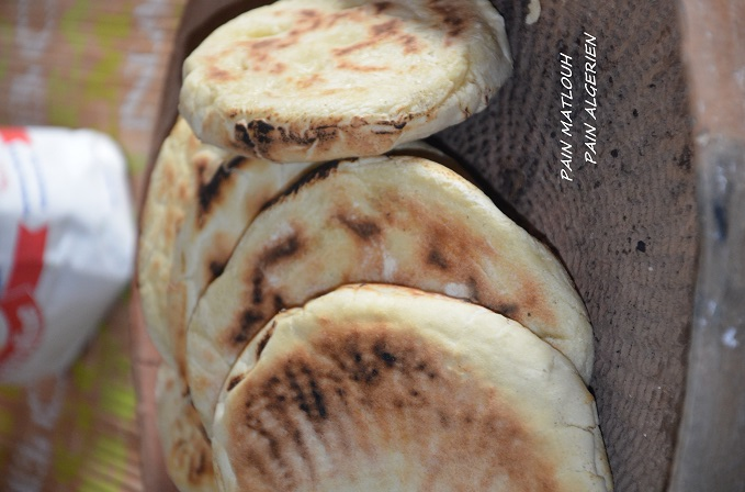 petit pain matlouh algerien