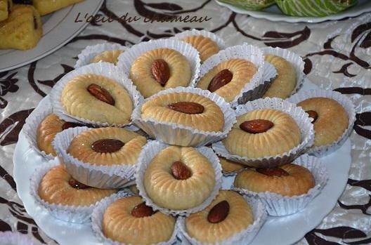gâteau algérien oeil du chameau ain el jamal