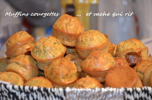 muffin courgette vache qui rit fondant moelleux facile