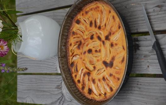 tarte aux pommes alsacienne facile