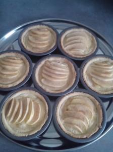 bouchra bouamama tarte aux pommes amandes
