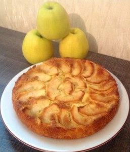 gateau normand aux pommes Matesha Fifla