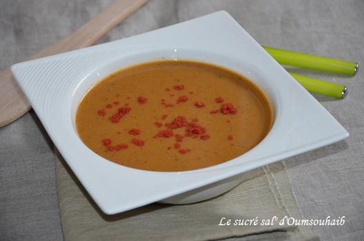 Soupe Turque De Lentilles Corail Le Sucre Sale D Oum Souhaib