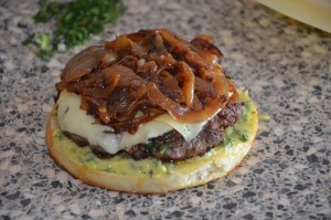 Burger façon Brice de top chef