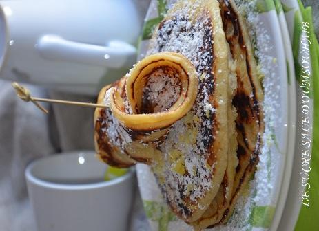 pancakes lait de coco 2