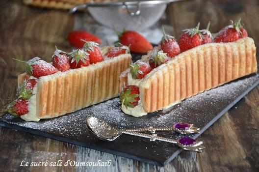 mille feuille aux fraises1