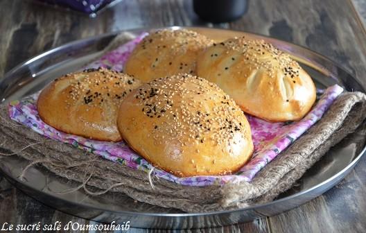 pain semoule au yaourt