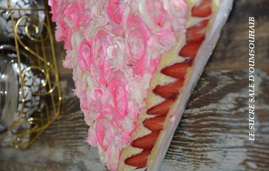 fraisier creme diplomate 2