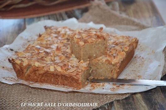 Gâteau moelleux aux poires facile