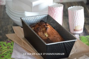 CAKE MARBRE CHOCOLAT PISTACHE