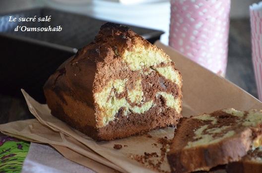 cake marbré pistache 1