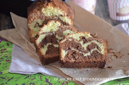 cake marbré pistache 2